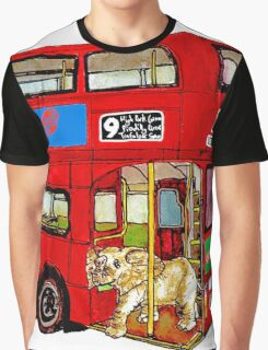 Elephant Bus 578 Graphic T-Shirt