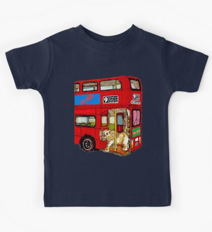 Elephant Bus 578 Kids Tee