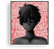 angsty white kid i guess???  Canvas Print