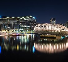 Webb Bridge in Melbourne, Australia by Nils Versemann