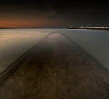 Pandanus Beach, Wynnum QLD by Lanny Edey