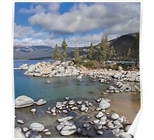 A View of Sand Harbor  Poster
