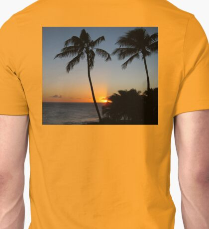 Poipu Sunset Unisex T-Shirt