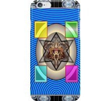 ***Blue Arrayed - Rising Star Cat*** iPhone Case/Skin