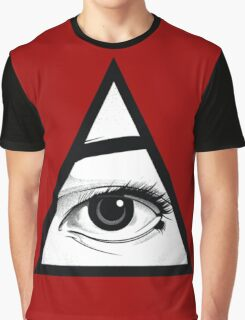 All Seing Eye Graphic T-Shirt