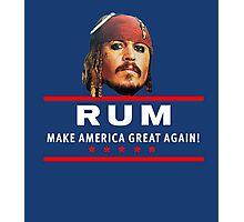 Vote for Rum Sparrow16 Photographic Print