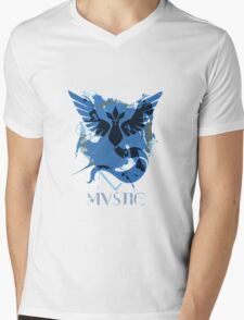 Pokemon Mystic Mens V-Neck T-Shirt
