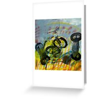 Buffalo Factory- Tricycles Greeting Card