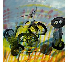 Buffalo Factory- Tricycles Photographic Print