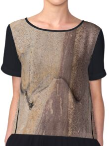 Textures of Woolshed Cave Chiffon Top