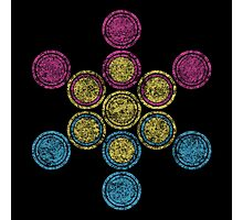 panSacred Circles Photographic Print