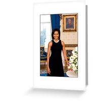 Michelle Obama First Lady Greeting Card