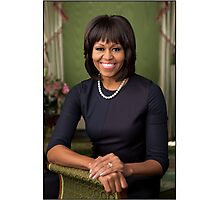 First Lady Michelle Obama Photographic Print