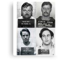 Serial Killers Mugshotc Canvas Print