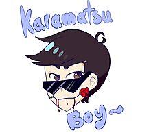 Karamatsu Boy Photographic Print