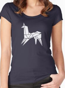 """""""It's too bad she won't live! But then again, who does?"""" Women's Fitted Scoop T-Shirt"""