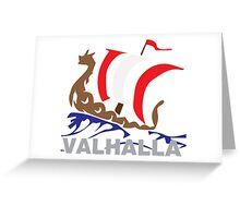 VALHALLA Greeting Card