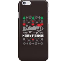 Merry Fishmas iPhone Case/Skin