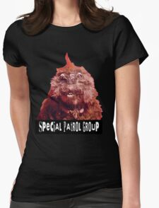 S.P.G, Vyvyan's hamster Womens Fitted T-Shirt