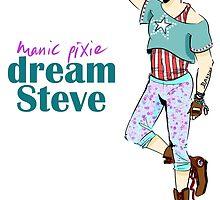 manic pixie dream steve by kehinki