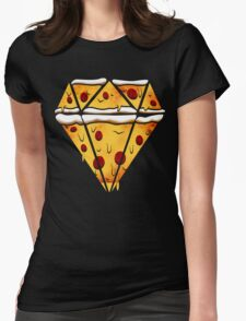 Pizza Is Forever Womens Fitted T-Shirt