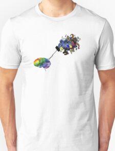 Beautiful Mind Brain Unisex T-Shirt