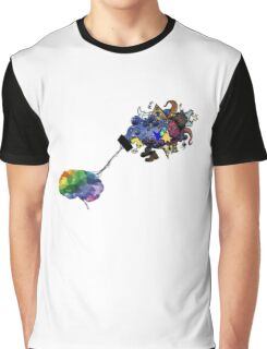 Beautiful Mind Brain Graphic T-Shirt