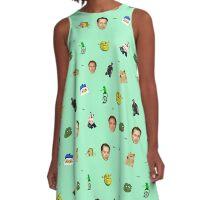 Meme Queen A-Line Dress
