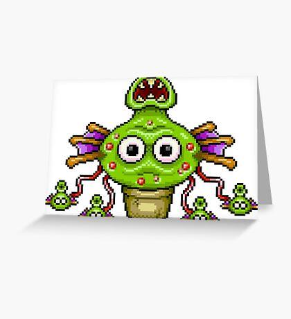 Hydraweed Greeting Card