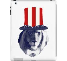 Lion Gibus Hat iPad Case/Skin