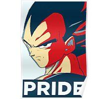 Pride Vegeta Poster