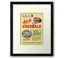Chesdale Cheese Framed Print