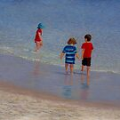 """""""Summer Holiday"""" Pastel painting by Alison Murphy by Alison Murphy"""