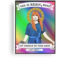 Church of Tori Amos Canvas Print