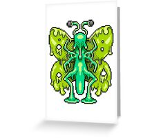 Boogerfly Greeting Card