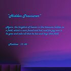 MATTHEW 13: 44 - available as card. by Ann  Warrenton