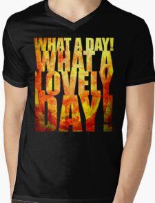 What A Lovely Day! Mens V-Neck T-Shirt