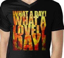 What A Lovely Day! Mens V-Neck T-Shirt