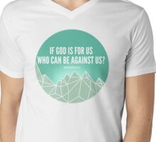 God Is For Us Mens V-Neck T-Shirt