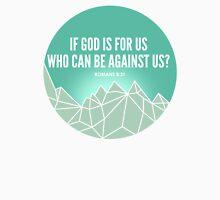 God Is For Us Mens V-Neck T-Shirt