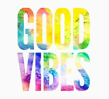 Good Vibes Mens V-Neck T-Shirt