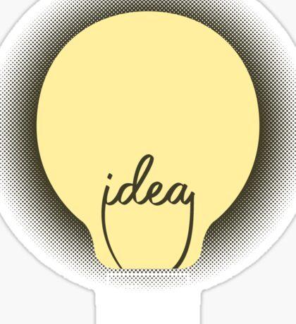 Idea! Sticker