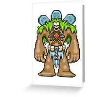 The Crypt Golem Greeting Card
