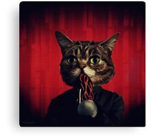 MEW-OOD - Kitty Ood Halfbreed Portrait Canvas Print
