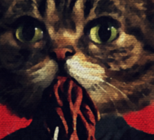 MEW-OOD - Kitty Ood Halfbreed Portrait Sticker
