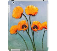 Oriental Poppies  iPad Case/Skin
