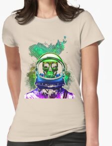 Astronaut SWAG Womens Fitted T-Shirt