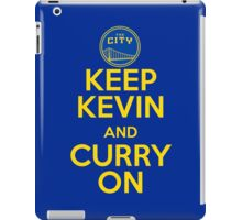 Keep Kevin and Curry On iPad Case/Skin