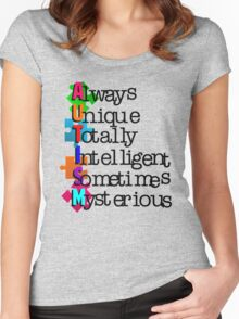 Autism Meaning Women's Fitted Scoop T-Shirt