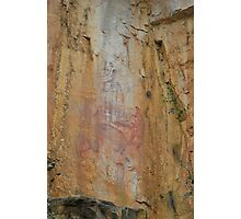 Rock Art at Katherine Photographic Print